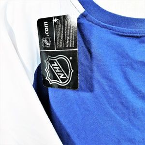 NHL Tops - Vancouver Canucks NHL Womens 1X V-Neck Raglan Slv